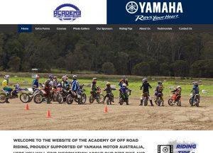 Academy of Offroad Riding - Website Screenshot