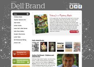 Author Dell Brand - Website Screenshot