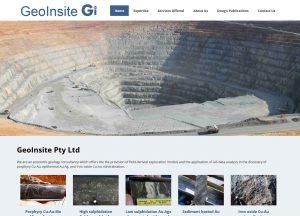 GeoInsite - Website Screenshot